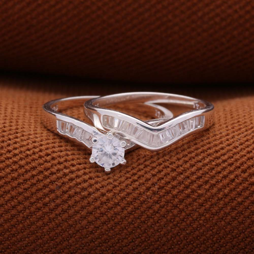Tower D 925 Silver Ring