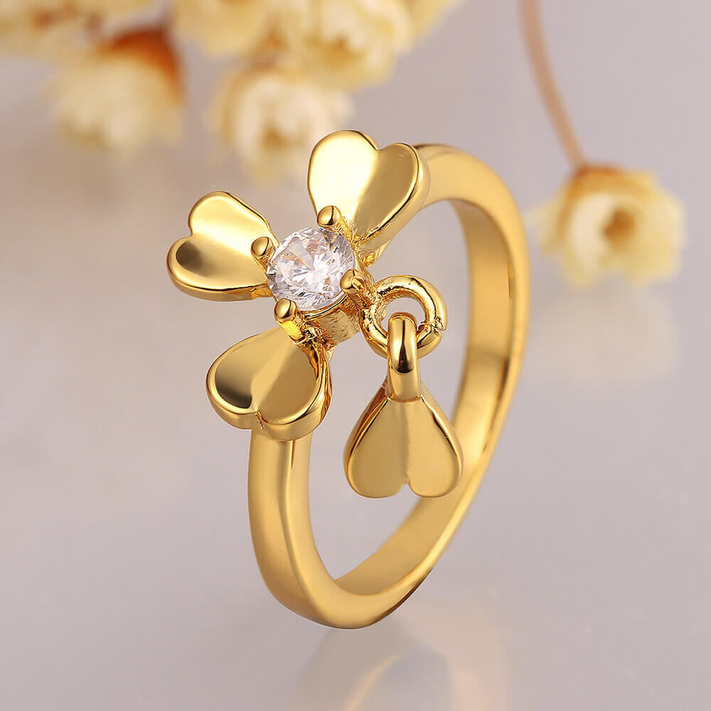 Martha 18K Gold Plated Ring